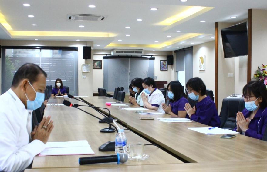 โครงการสวดมนต์และอบรมคุณธรรม ประจำเดือนสิงหาคม2563
