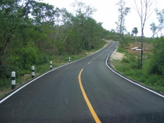 โครงการถนนไร้ฝุ่นภายใต้แผนปฎิบัติการไทยเข้มแข็ง 2555