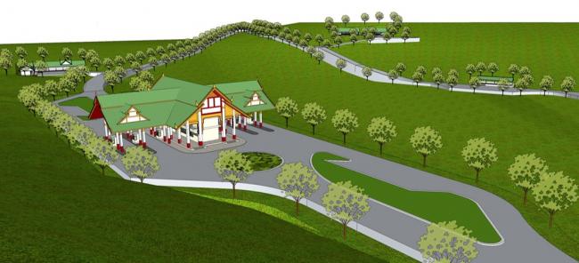 โครงการศึกษาความเหมาะสมและออกแบบรายละเอียดงานก่อสร้างถนนจากด่านเจดีย์สามองค์/พญาตองซู-ทันบูไซยัด(ช่วงท้ายหมู่บ้านพญาตองซู-บ้านช่องสง) และอาคารด่านชายแดน สาธารณรัฐแห่งสหภาพเมียนมาร์
