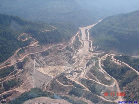 Nam Ngum 2 Hydroelectric Power Project (เขื่อนน้ำงึม)