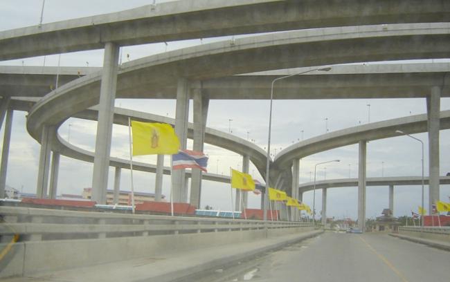 โครงการจ้างที่ปรึกษาศึกษาเพิ่มประสิทธิภาพโครงข่ายถนนสายหลักกับถนนวงแหวน